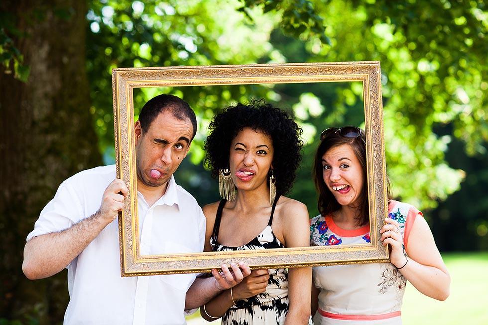 Hochzeitsgaste Im Bilderrahmen Fotos Von Hochzeitsgasten Images Of