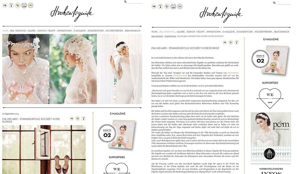 Hochzeitsguide.com  vintage wedding Eva & Andi
