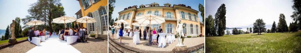 Ceremony wedding - POHO Weggis - St. Charles Hall - projectphoto.ch