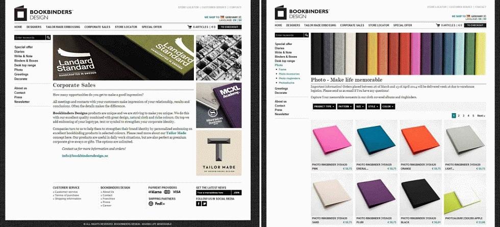 mepage Bookbinders Design