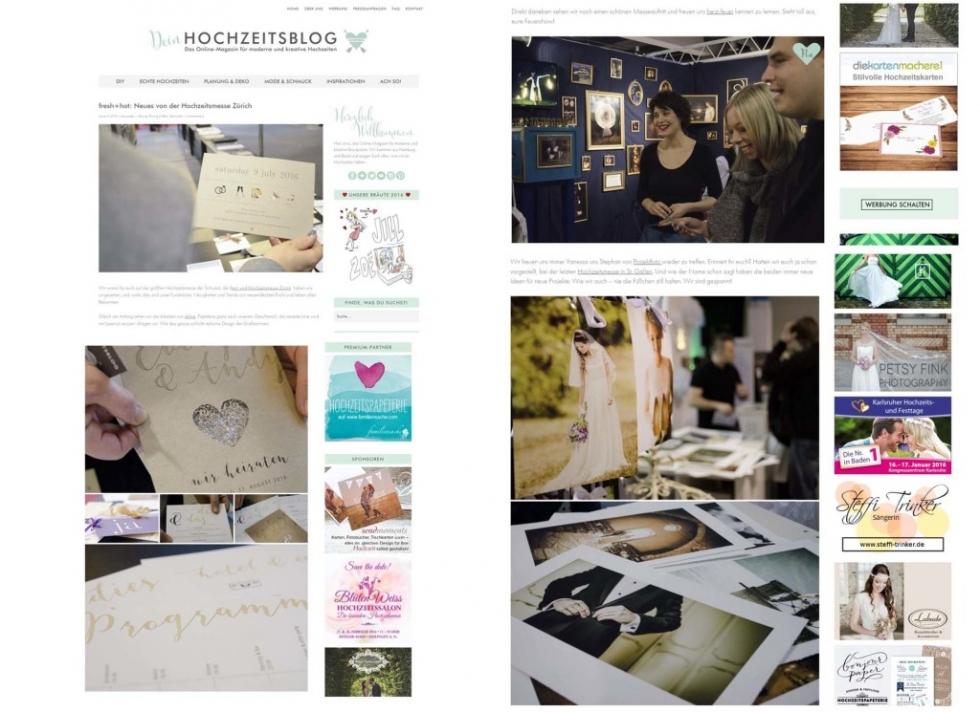 Deinhochzeitsblog über projectphoto.ch