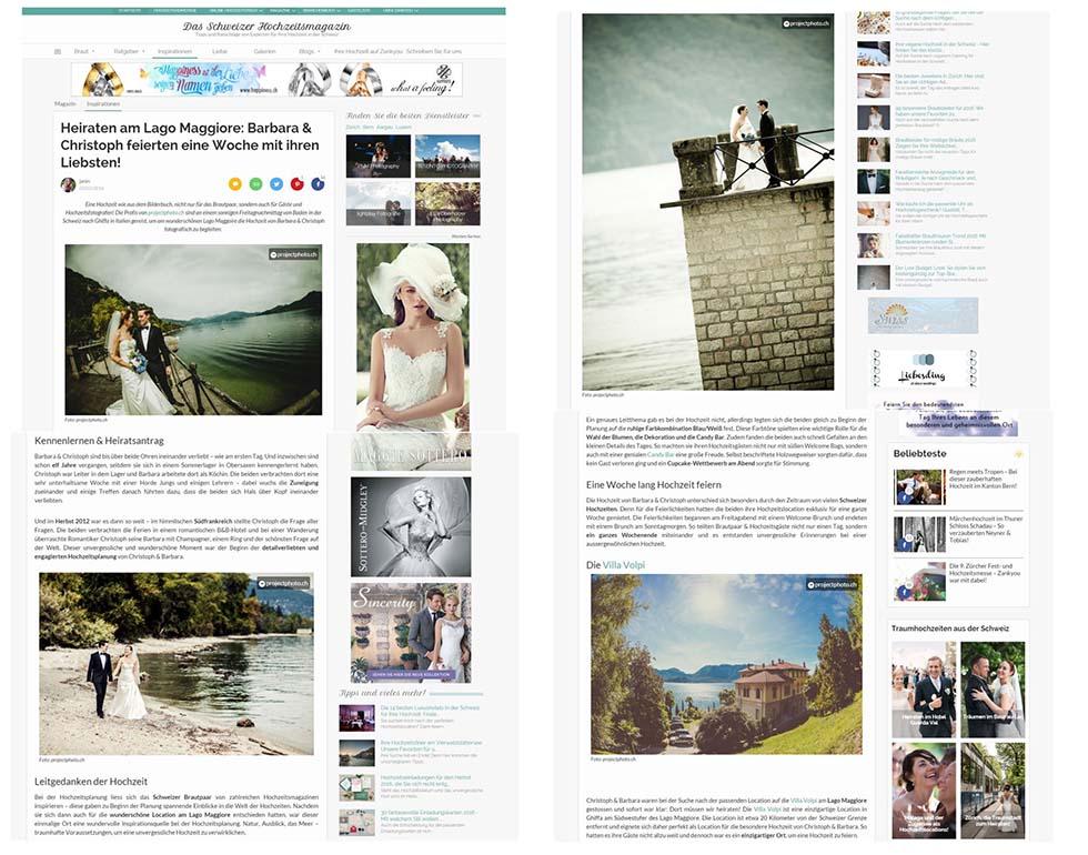 Zankyou features projectphoto.ch
