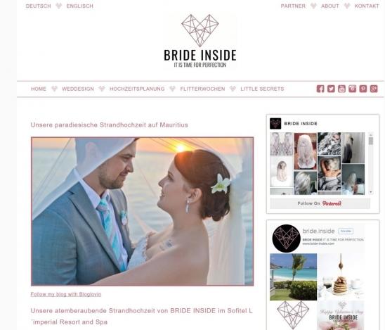 Bride Inside Blog