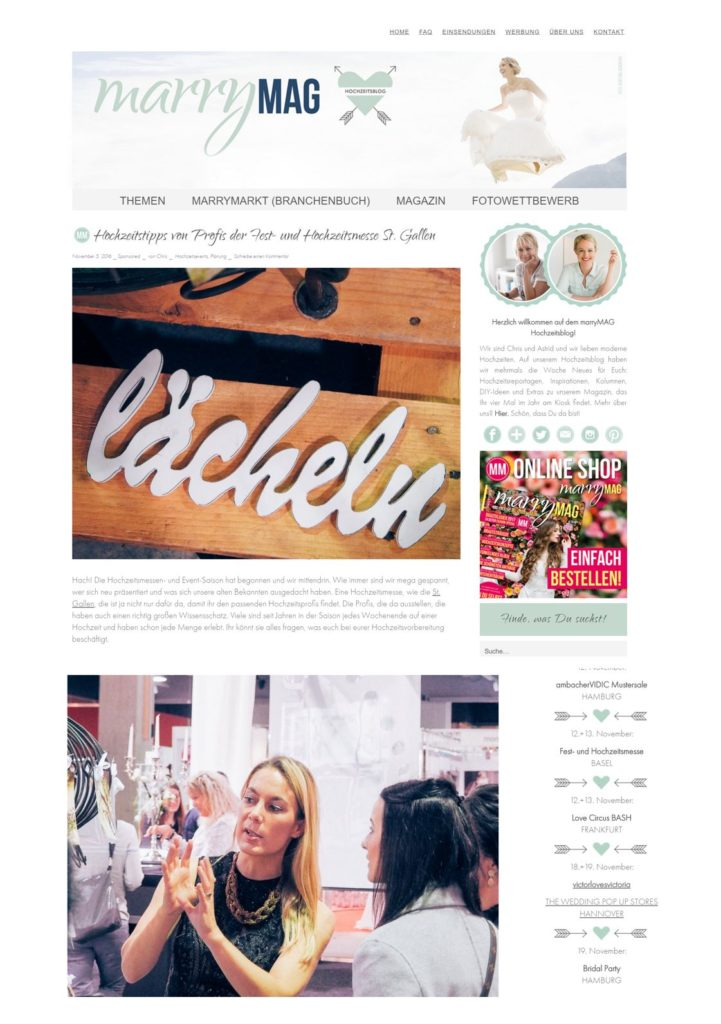 marrymag features projectphoto.ch