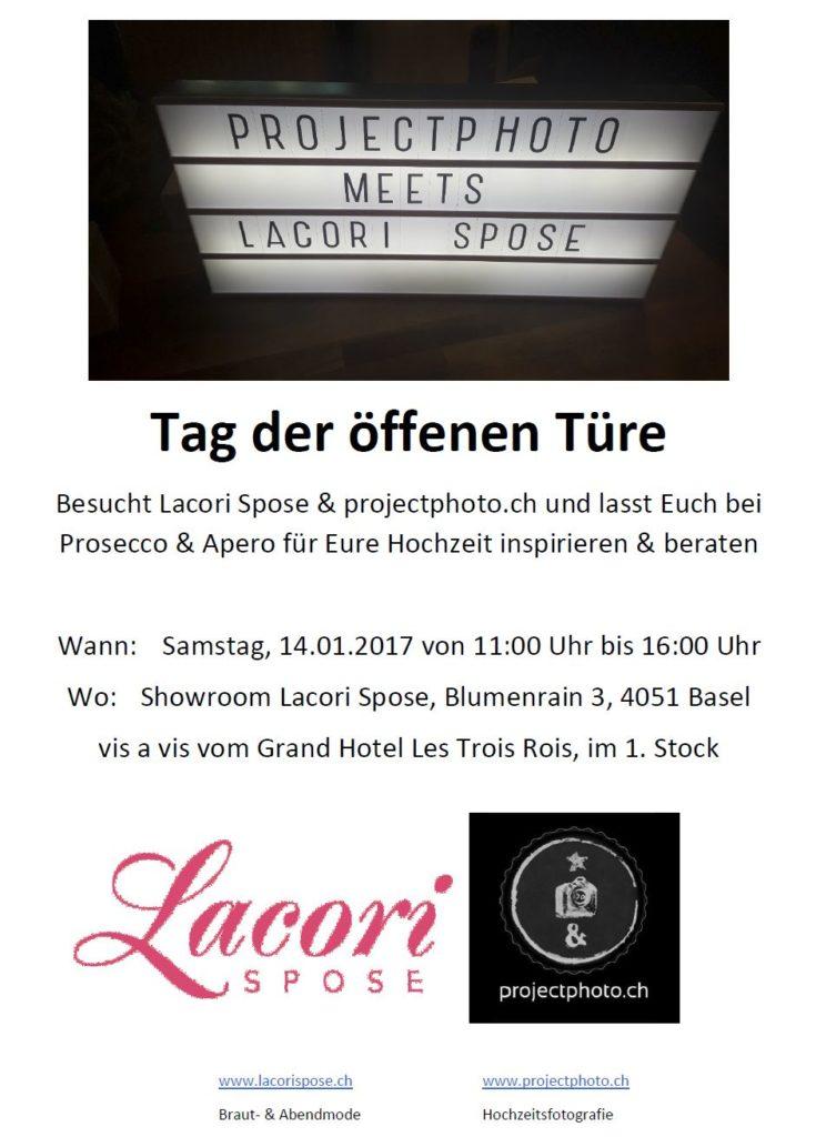 Tag der offenen Türe - Lacori Spose & projectphoto.ch