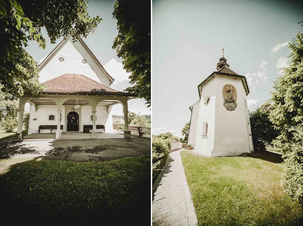 Blast from the Past - Hochzeit am Sursee - Mariazell Kapelle - projectphoto.ch