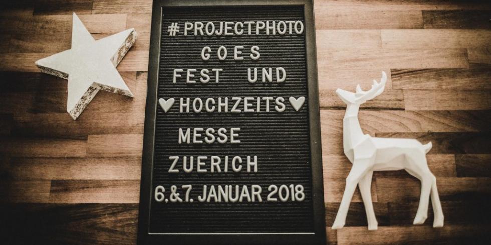projectphoto.ch an Fesz- und Hochzeitsmesse Zürich 2018