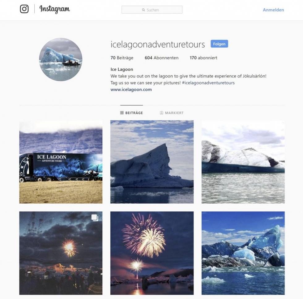 nstagram Post projectphoto - Icelagoonadventuretours