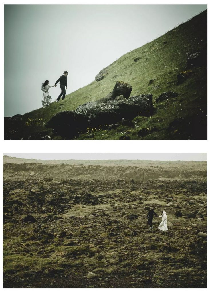 We are the wanderers features projectphoto - an anniversary shoot in Iceland