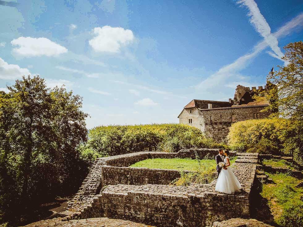 Hochzeit auf Schloss Habsburg - projectphoto.ch