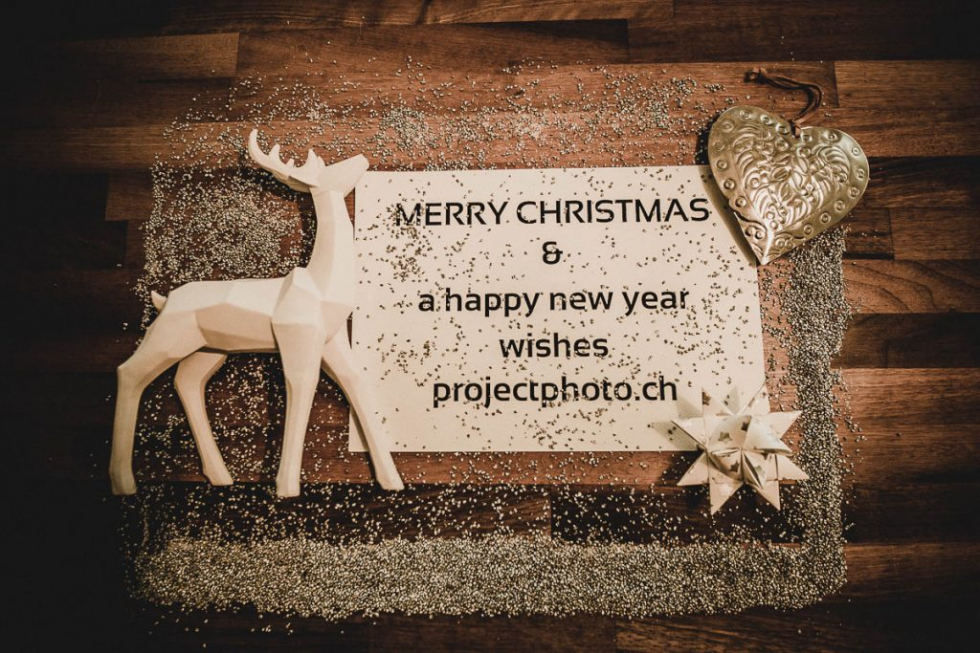 Merry Christmas & happy new year - projectphoto.ch