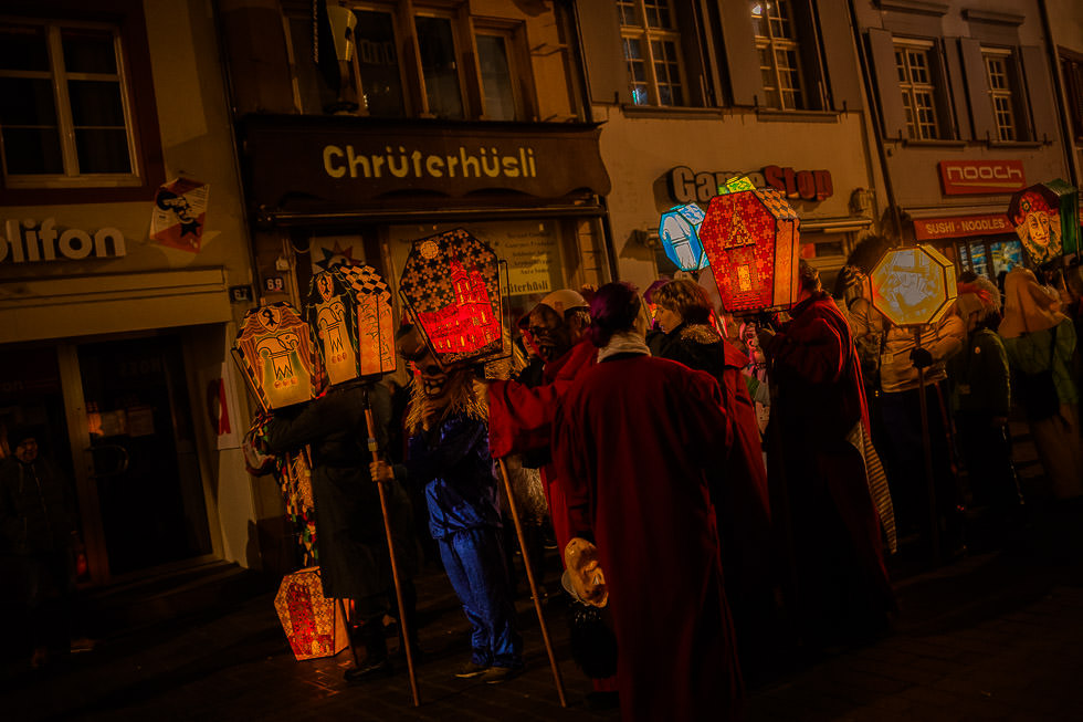 projectphoto.ch am Morgestraich 2019 - Basler Fasnacht